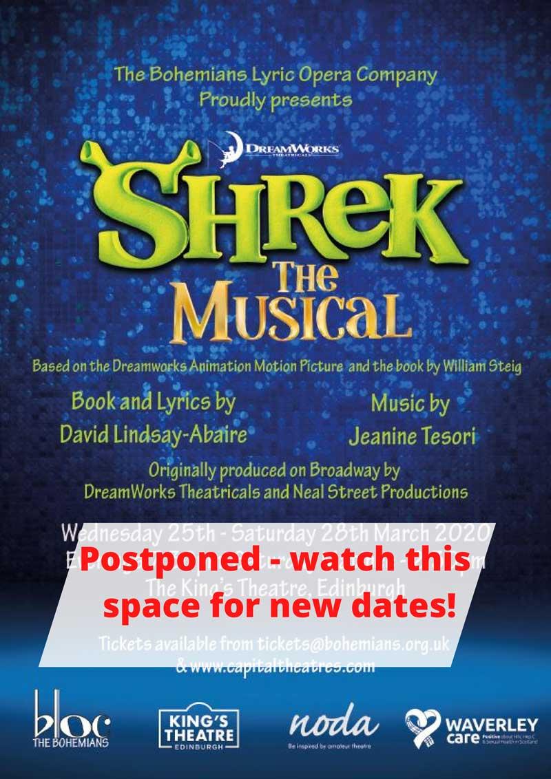 shrek postponed